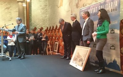 Nos conceden el «Premi ciutat solidària» en reconocimiento a nuestra labor