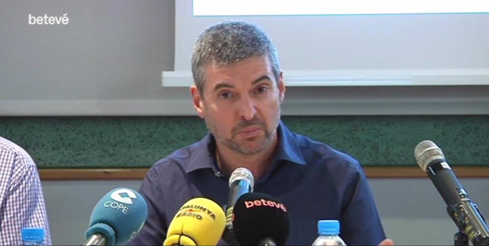 Josep Soler, el psicólogo de NACE, que ha realizado del estudio sobre la incidencia del bullying en niños superdotados